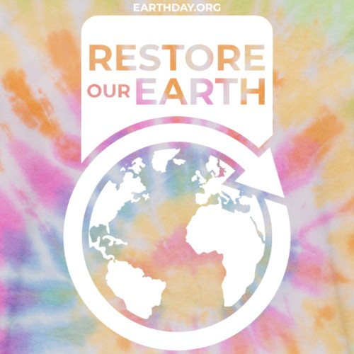 restore our earth unisex tie dye t shirt